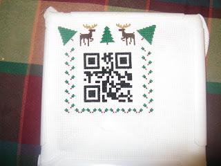 QR Code Cross Stitch  IMG_3227
