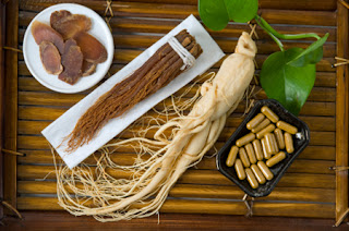 Panax ginseng is a biennial plant.
