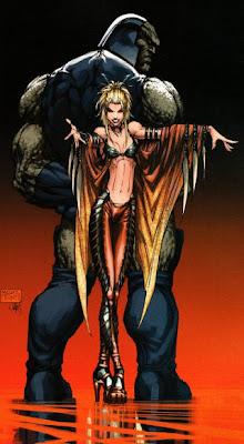 Darkseid cuando Supergirl era su zorrita