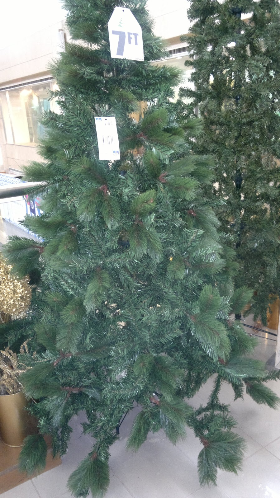 this beautiful tree is a mix of hard and prickly leaves and the soft twine type pretty expensive and out of budget though so i needed to look for other