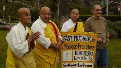 Fast, Pray & Walk for a Nuclear Free Future - Close San Onofre