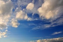 Schönwetterwolken...