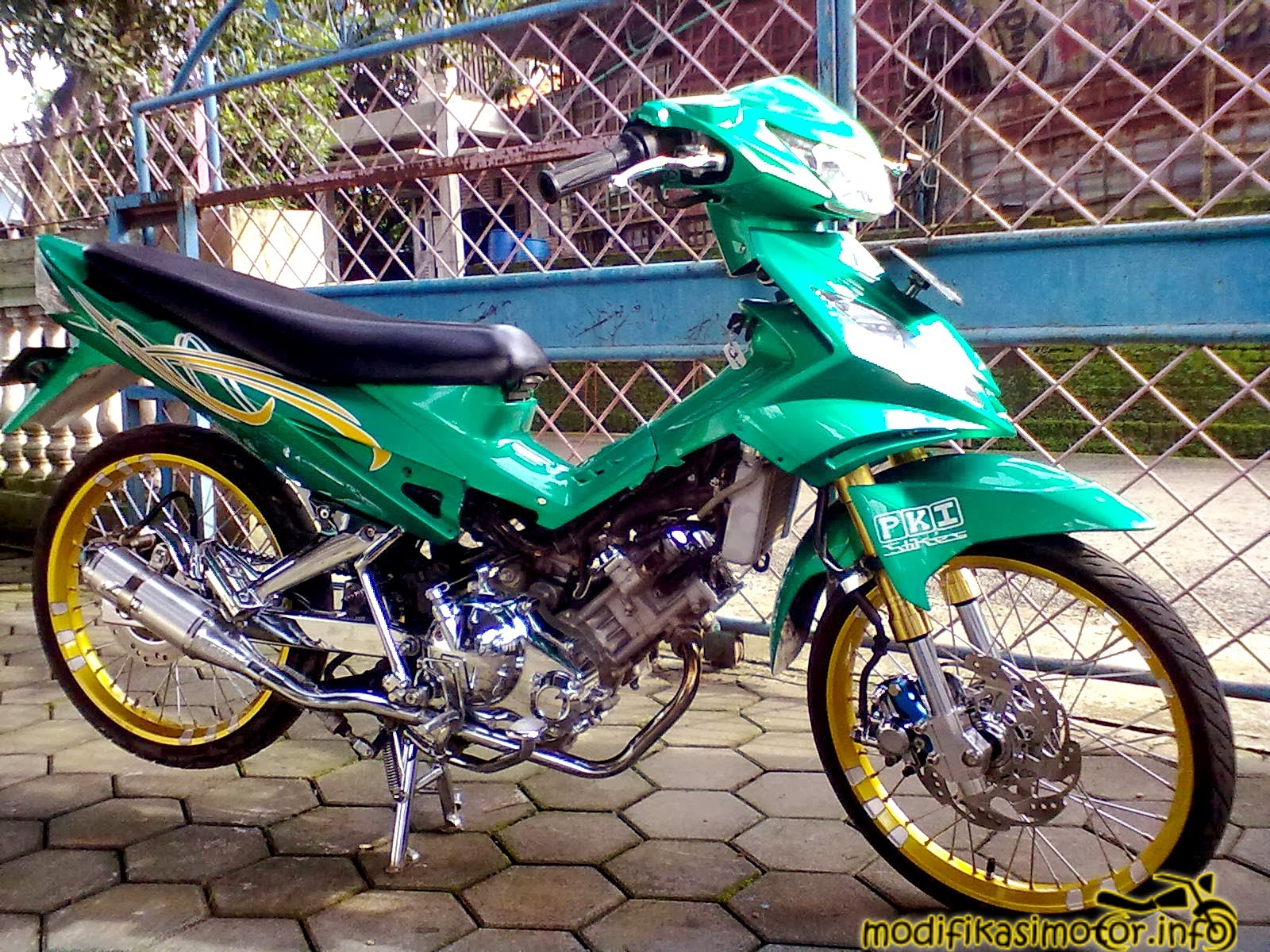 motor modifikasi mx terkeren