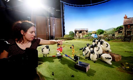 Shaun The Sheep (Behind The Scene)