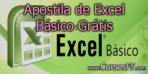 Apostila de Excel Básico Grátis