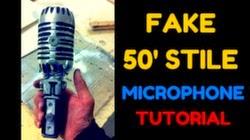 microfono 50 style