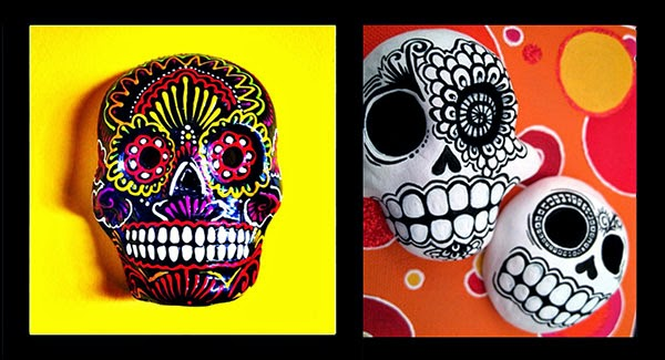 Studio Art Dia De Los Muertos Day Of The Dead Masks
