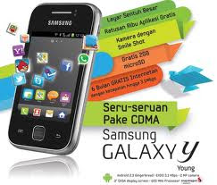 Spesifikasi Samsung Galaxy Young S5360