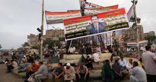 وزارة الداخلية المصرية: الجيش المصري لم يستخدم أسلحة نارية او خرطوش في مجزرة رابعة العدوية اليوم 27/7/2013