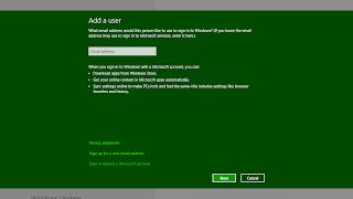 Membuat Akun User Baru Windows 8