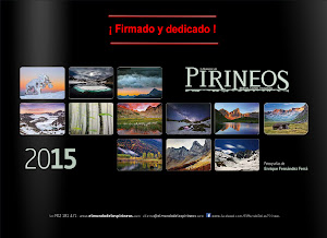 """Calendario 2015 """"El Mundo de los Pirineos"""""""