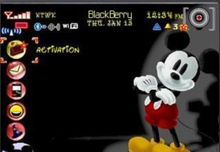 cute+Mickey cute Mickey for BlackBerry Curve 8520 Themes