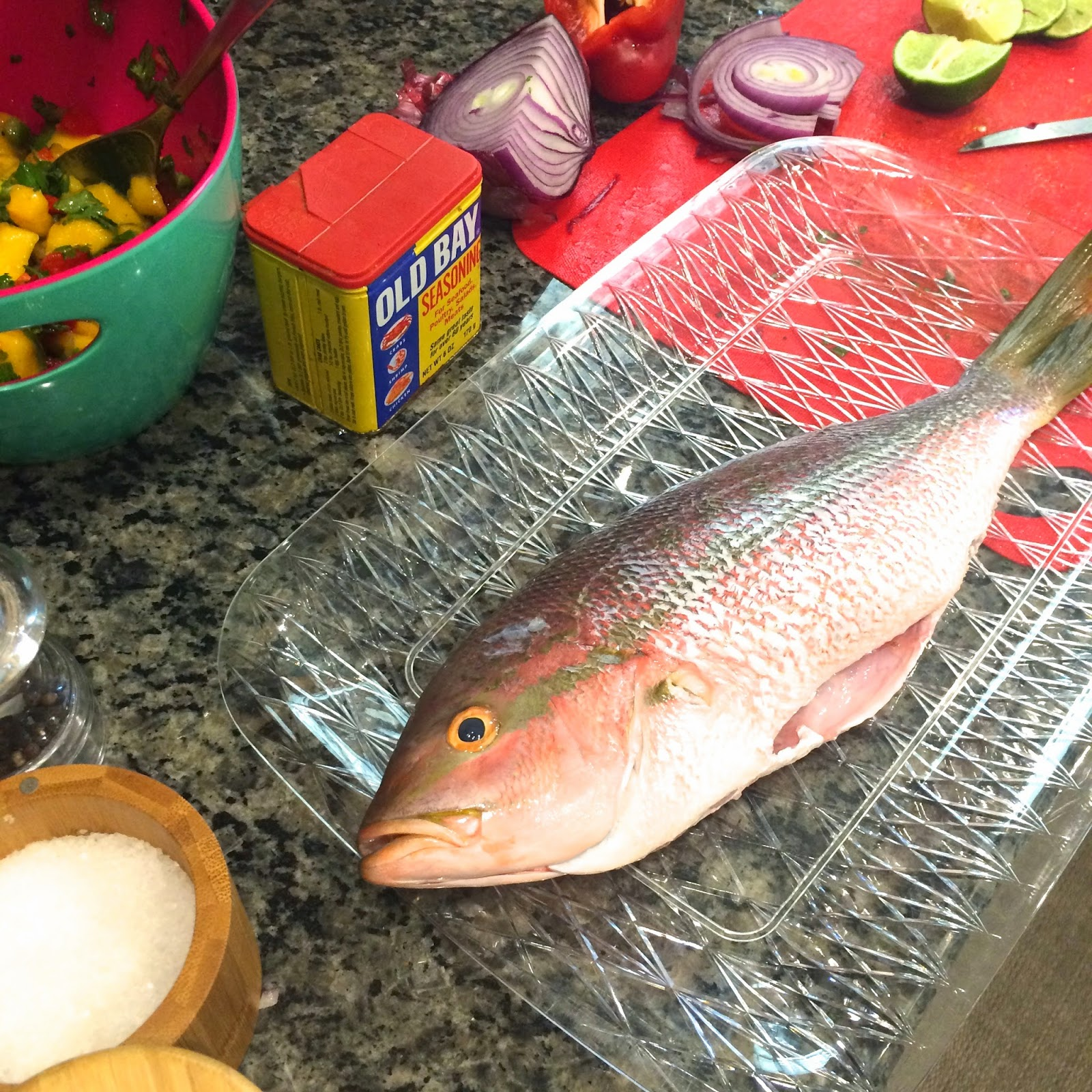 how to cook yellowtail snapper
