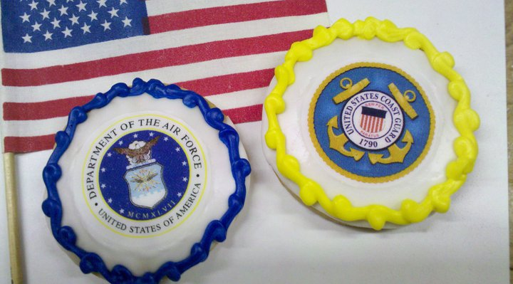 Leslies Cool Cakes From Stans Northfield Bakery Military Cookies