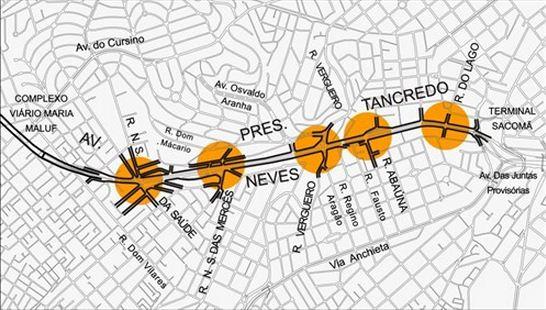 Operação Frente Segura - Avenida Presidente Tancredo Neves