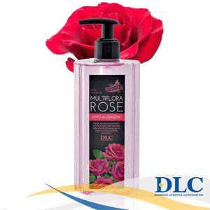 DLC Multiflora Rose Hypo-Allergenic Shower Gel