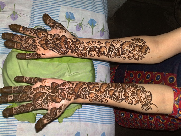 bridal mehndi designs for wedding