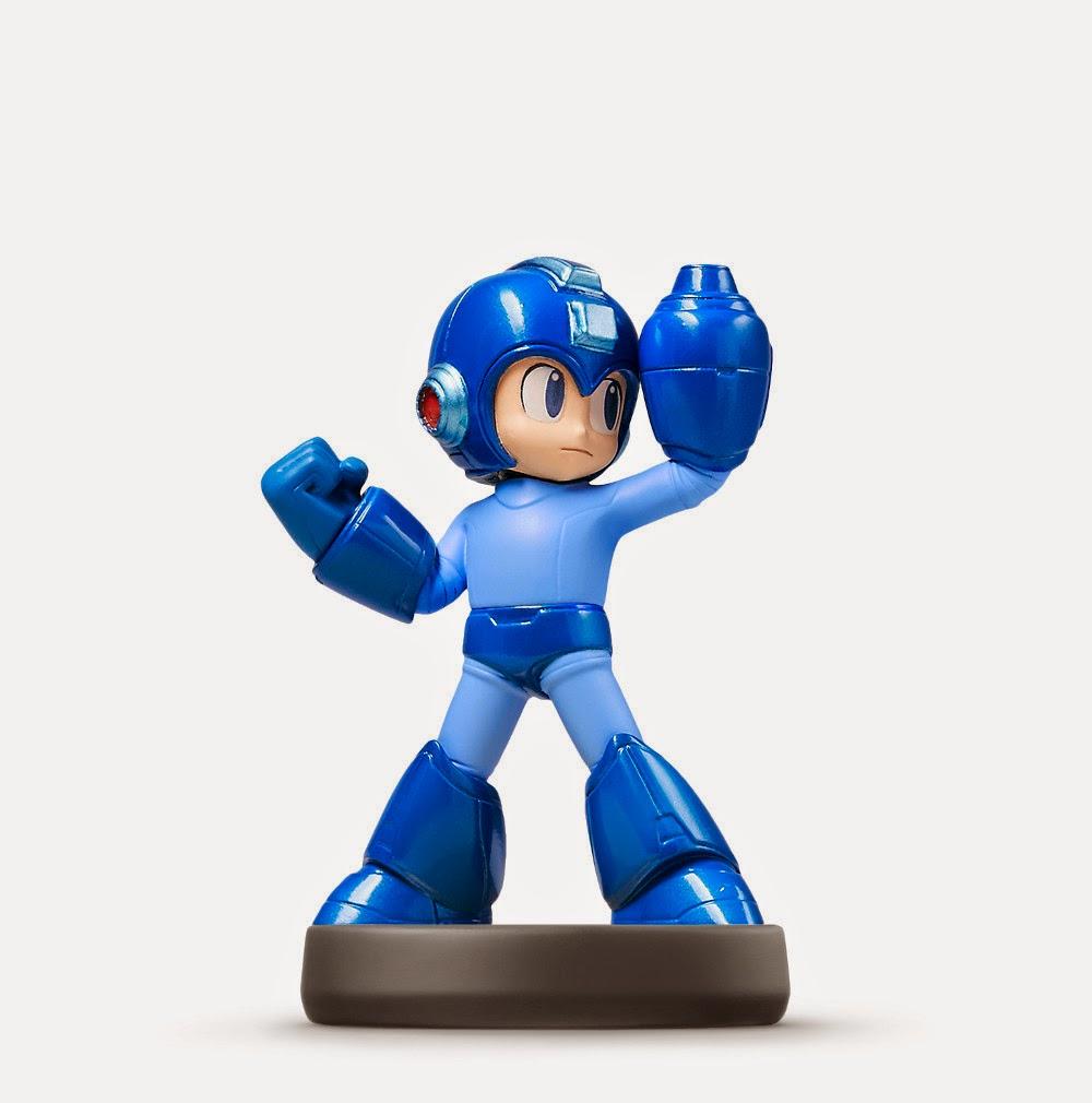 JUGUETES - NINTENDO Amiibo - 27 : Figura Mega Man  (20 febrero 2015) | Videojuegos | Muñeco | Super Smash Bros Collection  Plataforma : Wii U & Nintendo 3DS