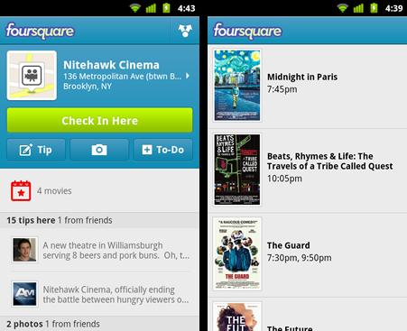 Foursquare Android Apk resimi 4
