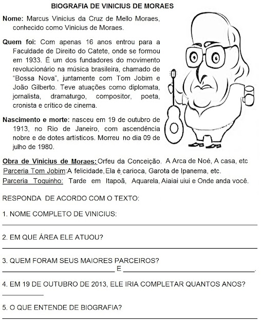 Vinicius De Moraes   Biografia E Atividades