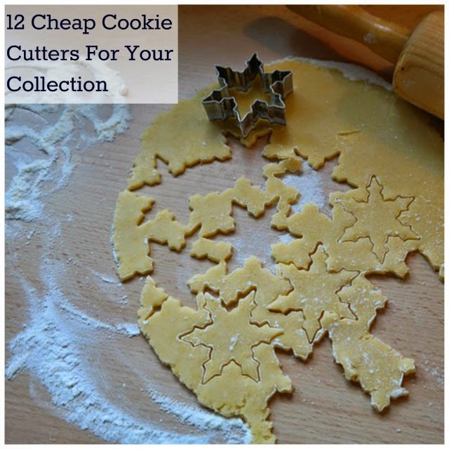 12 Cheap Cookie Cutters For Your Collection #cookiecutters