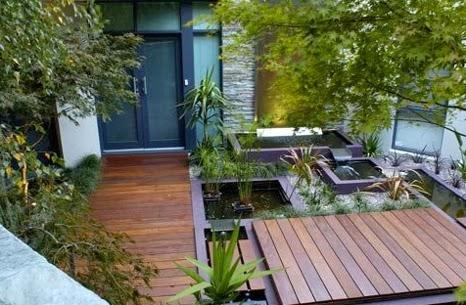 ide desain taman rumah minimalis layanan jasa pembuatan