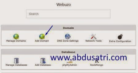 cara install wordpress di panel webuzo