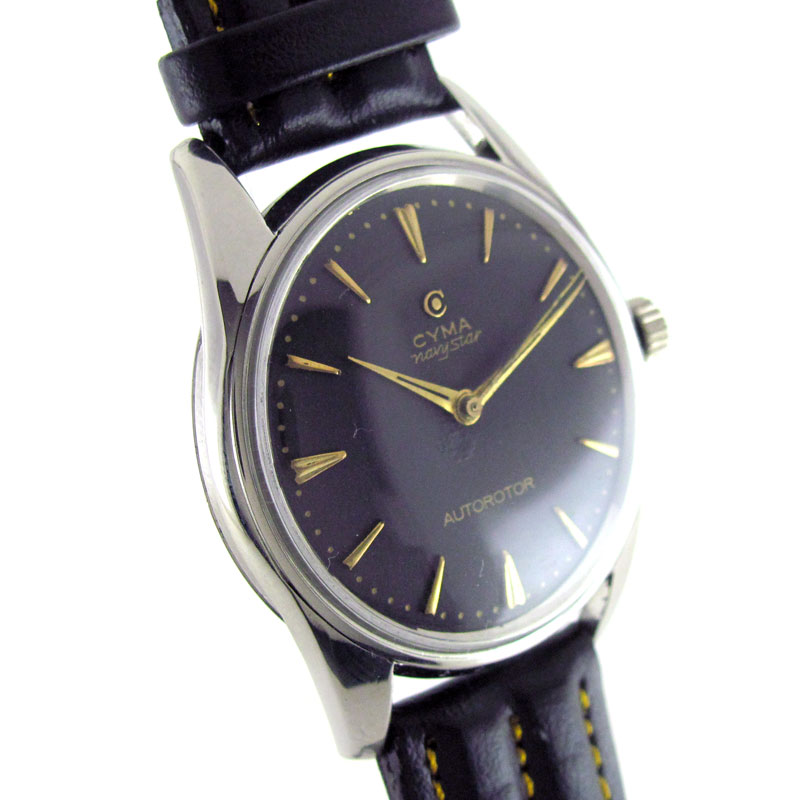 antique watches collection by wristmenwatches cyma navy