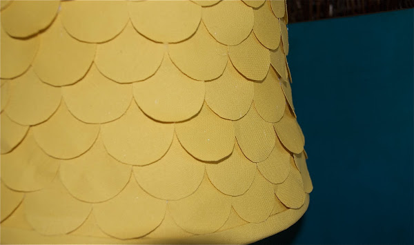 scalloped lampshade tutorial
