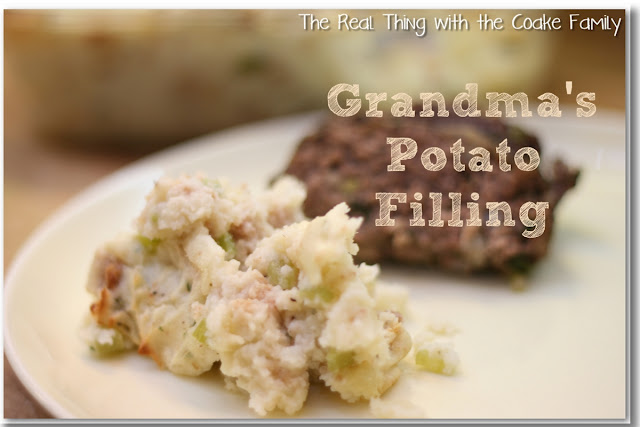 Potato Filling