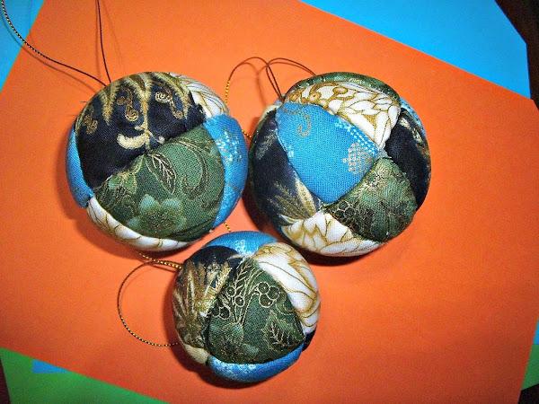 Bolas de navidad navidad porexpan aprender manualidades es - Manualidades bolas de navidad ...