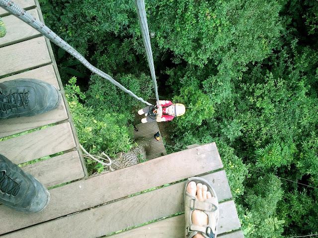 TAILANDIA: Aventura en el Parque de tirolinas de Pattaya
