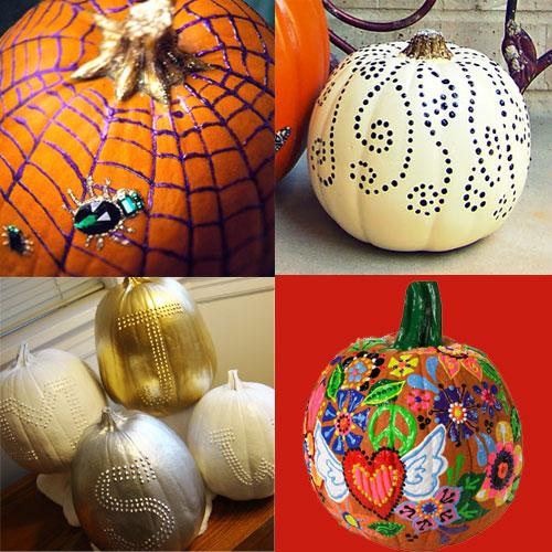 Ilovetocreate Blog Puffy Paint Pumpkin Painting Ideas