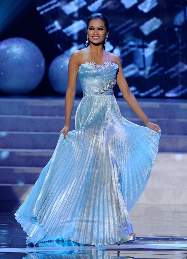 2012 Miss Universe - Kainat Güzellik yarışması Gece Elbiseleri