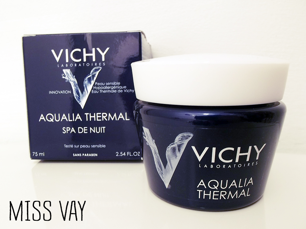 masque de nuit aqualia thermal spa de vichy miss vay. Black Bedroom Furniture Sets. Home Design Ideas