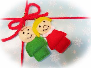 chiudipacco natalizio fai da te
