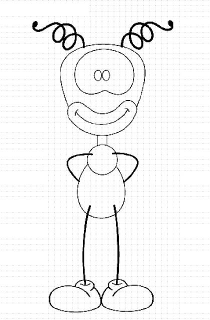 Desenhos Smilinguido Para Colorir