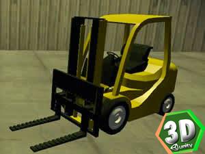 3d Forklift Similatörü
