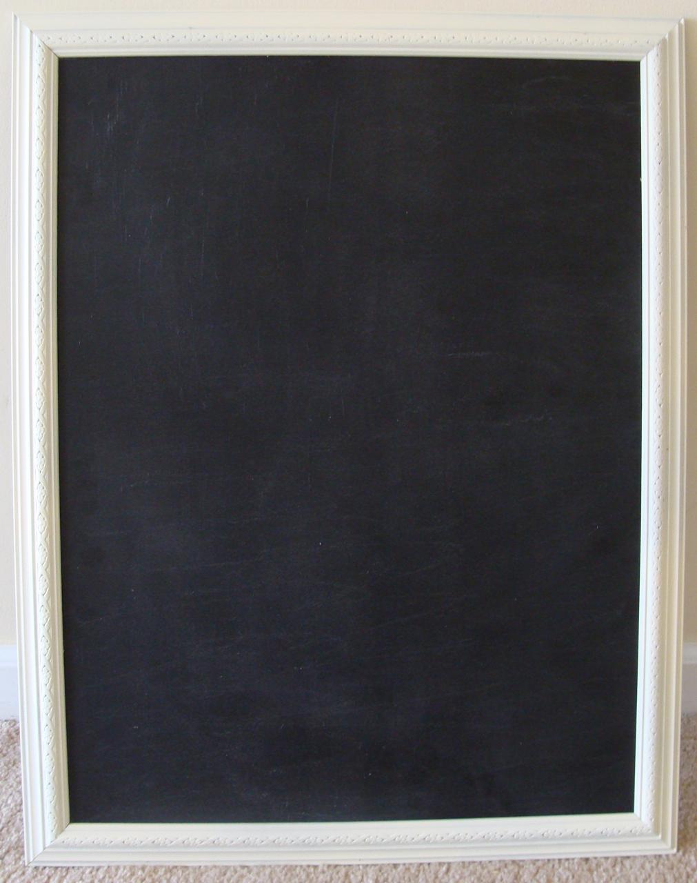 Something Ivory: DIY Kitchen Chalkboard