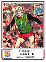 Charlie Carter - Panini 83/84 sticker