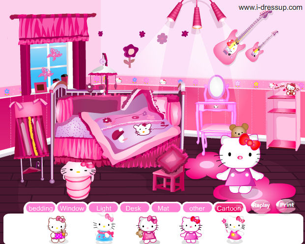 Hello Kitty Bedroom Game 28 Images Hello Kitty Room In