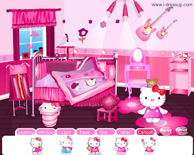 Hello Kitty Room Creator Online Game