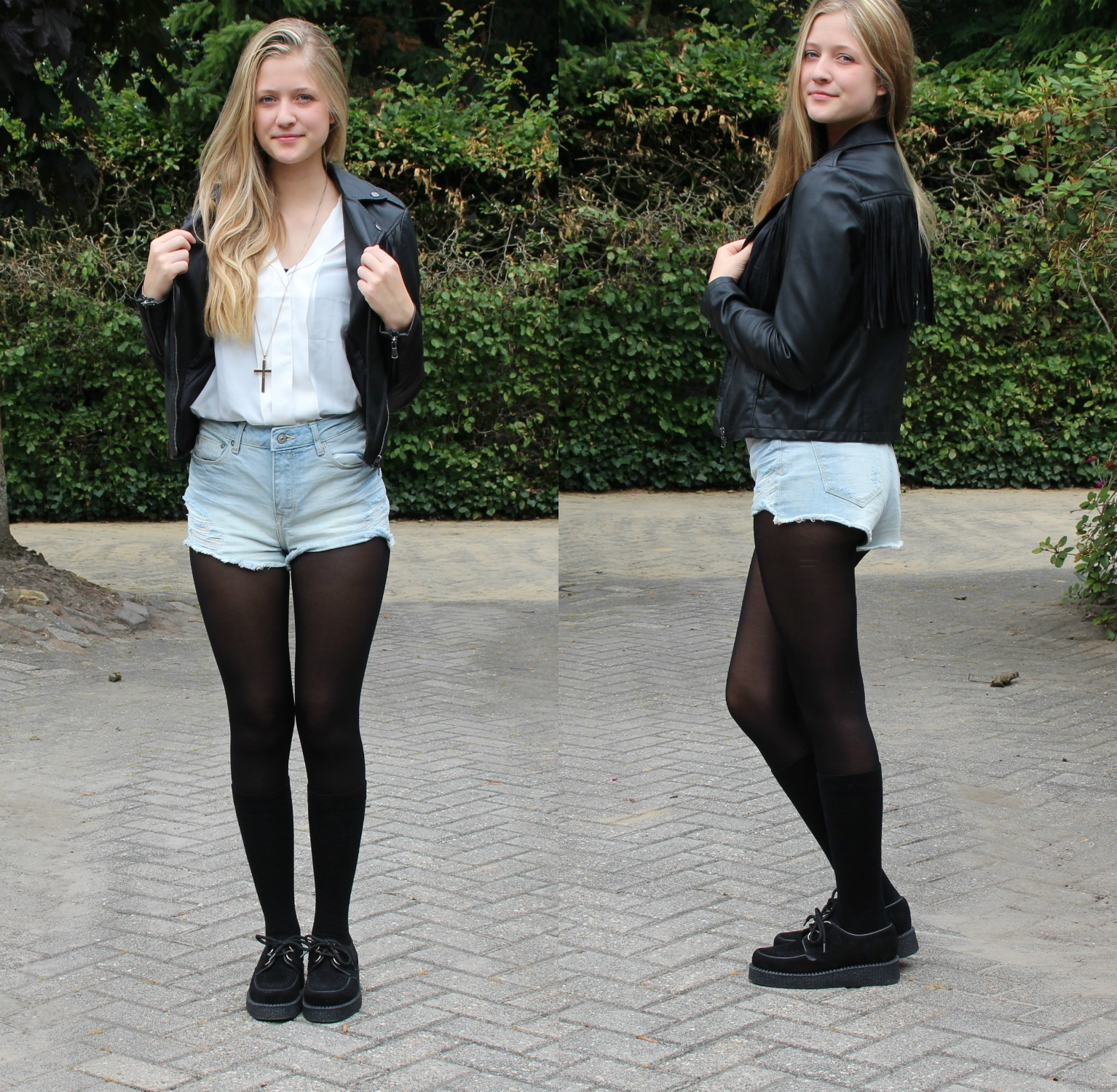 ALWAYS †IRED: † How I style High-Waist-Shorts / Youtube