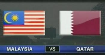 LIVE STREAMING MALAYSIA VS QATAR 6 FEBRUARI 2013