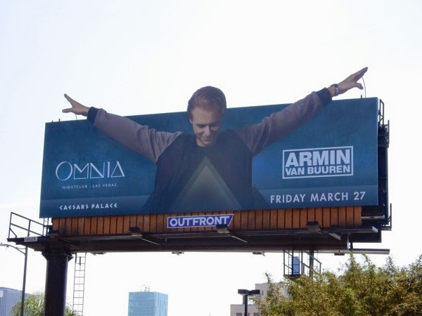 Omnia nightclub Armin van Buuren billboard