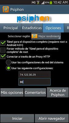 Internet Gratis Movistar México con Psiphon 2015