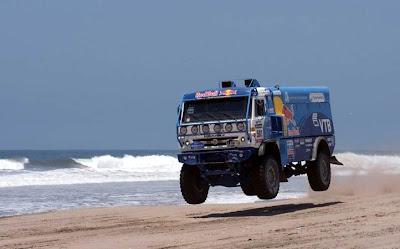 Truk Reli Dakar 2013