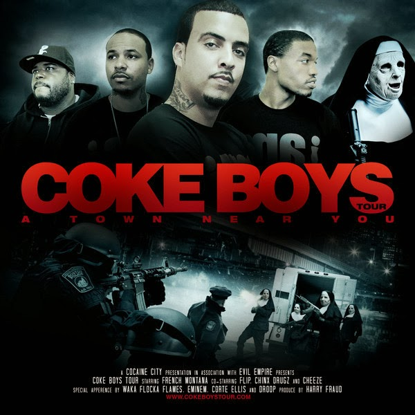 French Montana - Coke Boys Tour  Cover