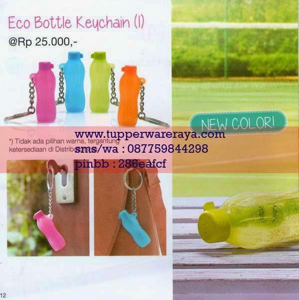 Katalog Tupperware Promo Januari 2015 Eco Bottle Keychain