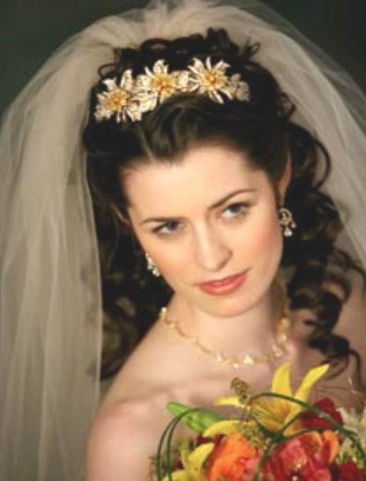 Wedding Hair Styles With Headbands Wedding Headband is the easy way to
